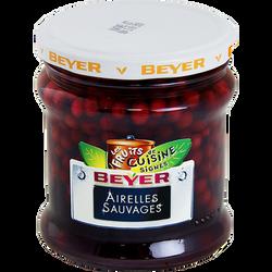 Airelles sauvages BEYER, bocal de 320ml, 110g