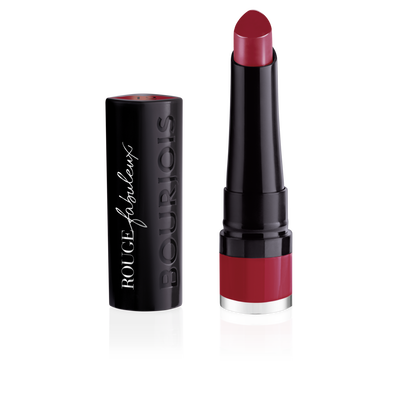 Rouge à lèvres rouge fabuleux 012 beauty and the red BOURJOIS, nu