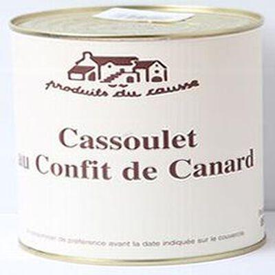 Cassoulet au Confit de Canard, Produits du causse, 850g