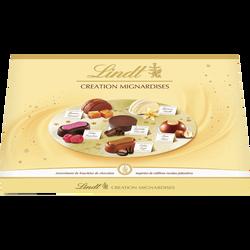 Création mignardises chocolats assortis LINDT, boîte de 430g