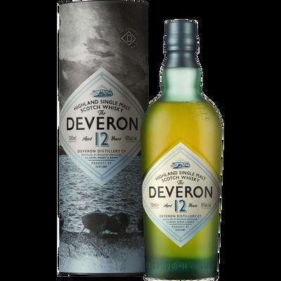 Scotch Whisky GLEN DEVERON 12ans, 40°, bouteille de 70cl