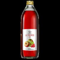 Pur Jus de pomme framboise BIO, THOMAS LE PRINCE, bouteille de 1l