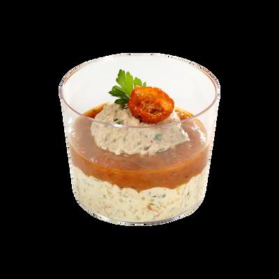 Cremeux thon tartare tomates, 120g