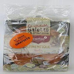 Lot de 2 Galettes natures 250gr + 1 galette nature 250gr, (750gr au total), Beurlay