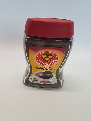 CAFE SOLUBLE 100G 3 CORACOES