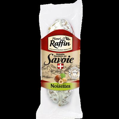 Saucisson sec aux noisettes, HENRI RAFFIN, 200g