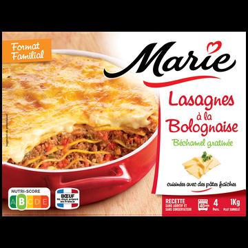 Marie Lasagnes À La Bolognaise Marie, 1kg
