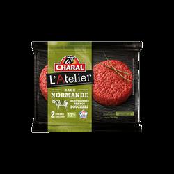 Steak haché Normand, 10% MAT.GR., CHARAL, France, 2 pièces, 260g
