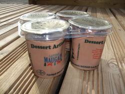 Crème au chocolat au lait de la ferme X 2 - MAUGAIN