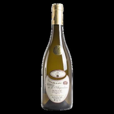 """Vin blanc AOP Muscadet """"Château de l'Aujardière"""" fût et chêne"""