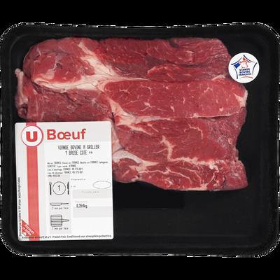 Viande bovine - Basse côte ** Génisse, à griller, U, Nouvelle agriculture, 1 pièce