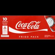 Coca Cola Coca-cola, 10 Canettes De 33cl