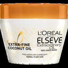L'Oréal Masque Huile Extraordinaire Pulpe De Coco Elseve, Pot 300ml