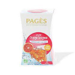 *orange sanguine infusion glacé