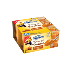 Dessert lacté crème caramel LA LAITIERE, 4x115g