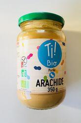 Purée arachides BIO, CLUB BIO, bocal de 350g