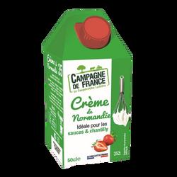 Crème UHt de Normandie 35% CAMPAGNE DE FRANCE bk 50cl