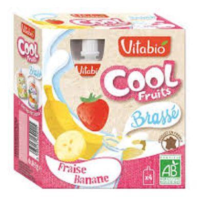 Cool Fruits Brassé Fraise Ban