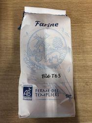 Farine de Blé BIO LA FERME DES TEMPLIERS 1kg