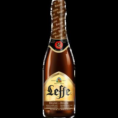 Bière brune ABBAYE DE LEFFE, 6,5°, 75cl
