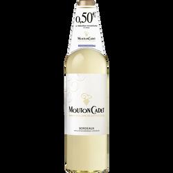 Vin blanc AOP Bordeaux MOUTON CADET, 75cl