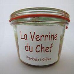 La verrine du chef, Fabriquée à Oléron, 180gr, bocal, Les conserves Dupuy