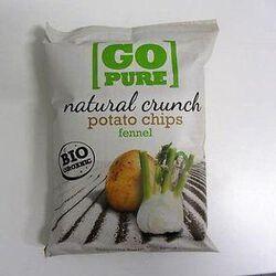 Chips de pomme de terre au fenouil Bio GO PURE,125g
