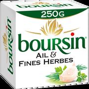 Boursin Spécialité Fromagère Pasteurisée Ail Et Fines Herbes, 39% De Mg,boursin, 250g