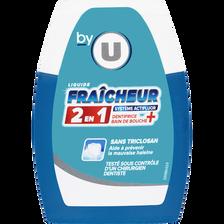 Dentifrice liquide 2 en 1 fraîcheur U, flacon de 75ml