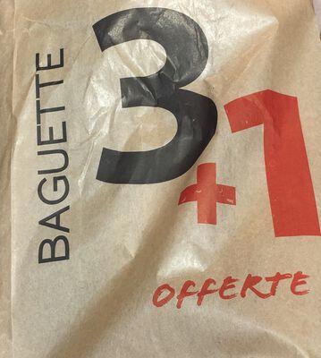 BAGUETTE TRADITION 3+1 OFFERT