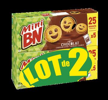 BN Mini Bn Chocolat, 5 Pochons, 2x175g