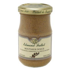 Moutarde brune douce EDMOND FALLOT, bocal 21cl