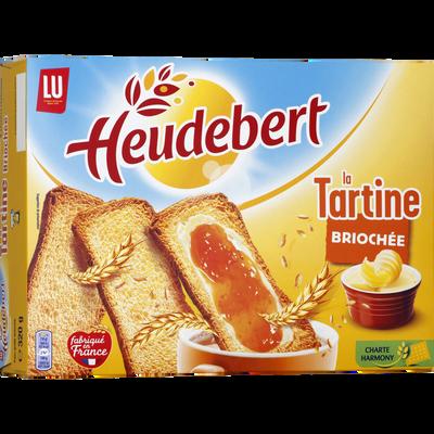Tartines briochées HEUDEBERT, 320g