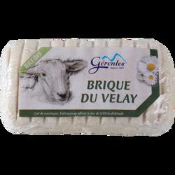 Brique du Velay au lait pasteurisé de brebis, 28%mg, 180g