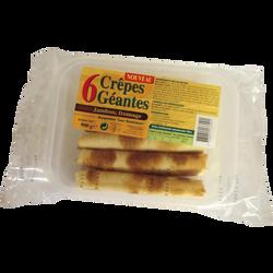 6 crêpes géantes jambon fromage SOCOPAL, 900g