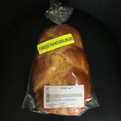 Brioche 600g (fabriqué par nos boulangers)