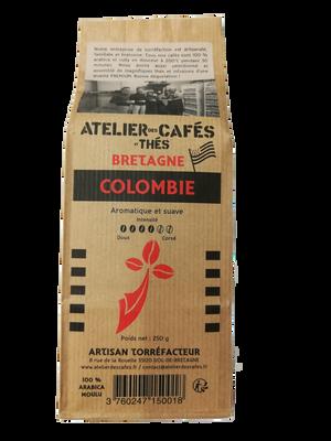 CAFE MOULU COLOMBIE 250G