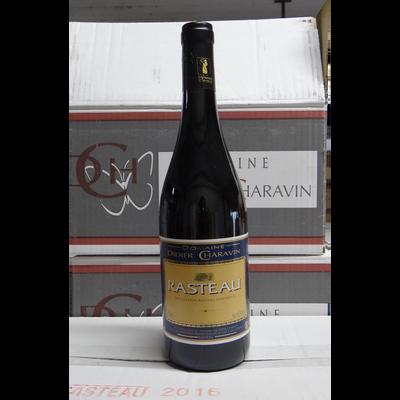 Côtes du Rhone rouge Charavin AOP, bouteille de 75cl