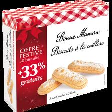 Bonne Maman Biscuits À La Cuillère , Paquet De 250g + 33% Gratuit