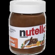 Nutella Pâte À Tartiner Aux Noisettes , Pot De 400g