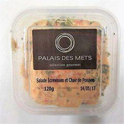 Salade Ecrevisses et Chair de Poisson PALAIS DES METS,120g