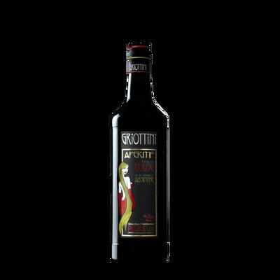 Apéritif à la cerise et à l'absinthe GRIOTTINI 15°, 1 litre