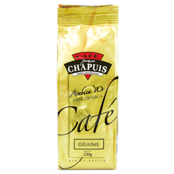 Café en grain arabica d'or CAFE CHAPUIS, 250g