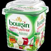 Boursin Fromage Pasteurisé Échalote Et Ciboulette Pour Salade & Apéritif 40% De Matière Grasse Boursin, 120g