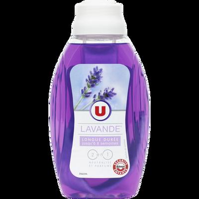 Mèche désodorisante 2 en 1 parfum lavande U, flacon de 375ml