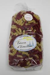 Pâtes séches artisanales Fusillon tomate /nature COEUR DE BEAUCE 500G