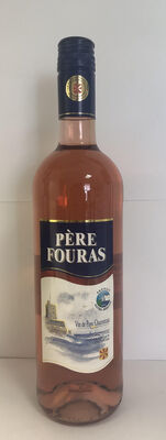 Vin rosé Père Fouras