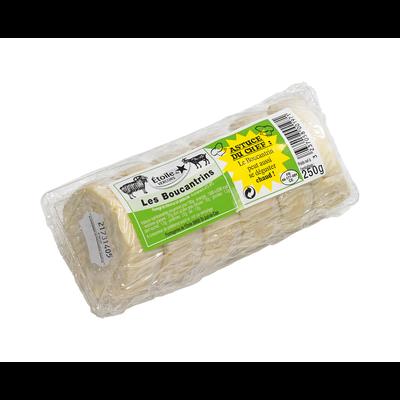 Fromage Boucantrin de chèvre au lait pasteurisé, 27% de MG, 250g