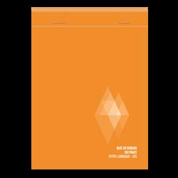 Bloc notes non perforé U, 5x5, 10,5x14,8 cm, 160 pages