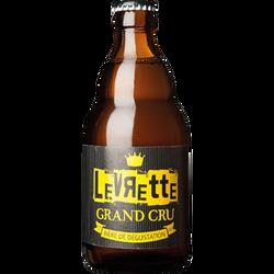 Bière blonde grand cru LEVRETTE, 8,5°, bouteille en verre de 33cl